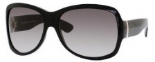 Yves Saint Laurent 6327/S Sunglasses Sunglasses - 087 Black / BD Dark Gray Gradient Lens