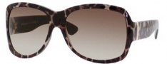 Yves Saint Laurent 6327/S Sunglasses Sunglasses - 0MOM Panther / CC Brown Gradient Lens