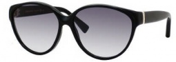 Yves Saint Laurent 6336/S Sunglasses Sunglasses - 0807 Black / JJ Gray Gradient Lens