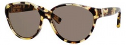 Yves Saint Laurent 6336/S Sunglasses Sunglasses - 0QR2 Light Havana / 6J Brown Lens