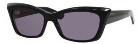 Yves Saint Laurent 6337/S Sunglasses Sunglasses - 0807 Black / R6 Gray Lens