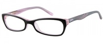 Guess GU 9065 Eyeglasses Eyeglasses - BLK: Black Over Pink