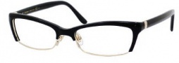 Yves Saint Laurent 6341 Eyeglasses Eyeglasses - 0EEI Light Gold / Black
