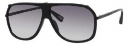 Marc Jacobs 305/S Sunglasses Sunglasses - 0PDE Semi Matte Black (JJ Gray Gradient Lens)