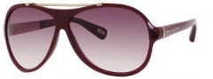 Marc Jacobs 316/S Sunglasses Sunglasses - 0lOB Burgundy (02 Brown Gradient Lens)