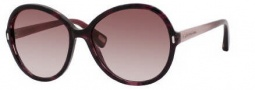 Marc Jacobs 318/S Sunglasses Sunglasses - 0lN8 Havana Plum Cherry (FM Brown Violet Shaded Lens)