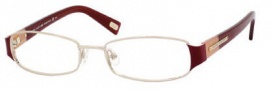 Marc Jacobs 333 Eyeglasses Eyeglasses - 0PUW Light Gold Pink / Burgundy