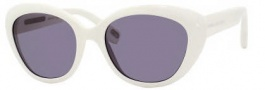Marc Jacobs 319/S Sunglasses Sunglasses - 0FMZ White (BN Dark Gray Lens)