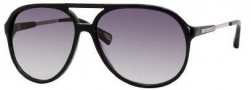 Marc Jacobs 327/S Sunglasses Sunglasses - 0807 Black (JJ Gray Gradient Lens)