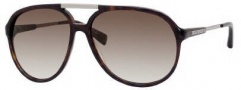 Marc Jacobs 327/S Sunglasses Sunglasses - 0086 Dark Havana (JS Gray Gradient Lens)
