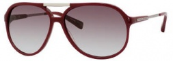 Marc Jacobs 327/S Sunglasses Sunglasses - 0PS1 Plum (5M Gray Gradient Aqua Lens)