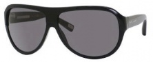 Marc Jacobs 343/S Sunglasses Sunglasses - 0807 Black (BN Dark Gray Lens)