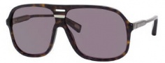 Marc Jacobs 344/S Sunglasses Sunglasses - 0086 Dark Havana (BN Dark Gray Lens)