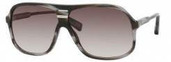 Marc Jacobs 344/S Sunglasses Sunglasses - 043l Dark Horn (JS Gray Gradient Lens)