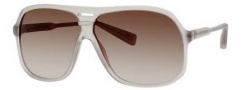 Marc Jacobs 344/S Sunglasses Sunglasses - 0RDN Gray Transparent (CC Brown Gradient Lens)