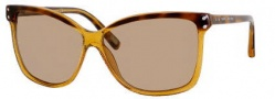 Marc Jacobs 345/S Sunglasses Sunglasses - 043W Havana Glitter (5V Brown Lens)