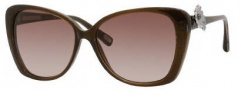 Marc Jacobs 347/S Sunglasses Sunglasses - 0YHQ Brown / Glitter Brown (JD Brown Gradient Lens)