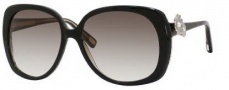 Marc Jacobs 348/S Sunglasses Sunglasses - 041X Black Glitter (JS Gray Gradient Lens)