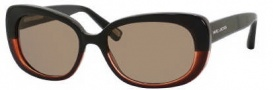 Marc Jacobs 350/S Sunglasses Sunglasses - 0U4Q Black Gray / Black (X7 Brown Lens)