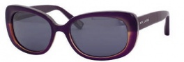 Marc Jacobs 350/S Sunglasses Sunglasses - 045Y Plum Gray Horn (4X Black Mirror Lens)