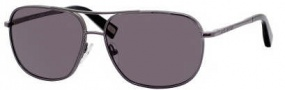 Marc Jacobs 352/S Sunglasses Sunglasses - 0KJ1 Dark Ruthenium (BN Dark Gray Lens)
