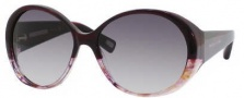 Marc Jacobs 363/S Sunglasses Sunglasses - 0l34 Burgundy Spotted Marble (BD Dark Gray Gradient Lens)