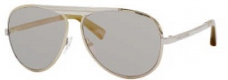 Marc Jacobs 365/S Sunglasses Sunglasses - 0F0K Gold Palladium (MV Suo Bronze Mirror Lens)