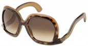 Marc Jacobs 369/S Sunglasses Sunglasses - 0OO2 Havana Chocolate (JD Brown Gradient Lens)