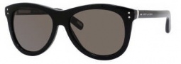 Marc Jacobs 383/S Sunglasses Sunglasses - 0807 Black (NR Brown Gray Lens)