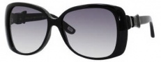 Marc Jacobs 385/S Sunglasses Sunglasses - 0807 Black (JJ Gray Gradient Lens)