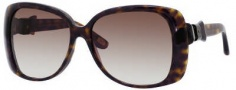 Marc Jacobs 385/S Sunglasses Sunglasses - 0086 Dark Havana (JS Gray Gradient Lens)