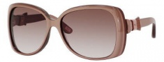 Marc Jacobs 385/S Sunglasses Sunglasses - 0Y9A Nude Pearl (S2 Brown Gradient Lens)