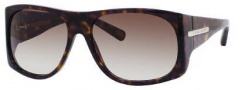 Marc Jacobs 386/S Sunglasses Sunglasses - 0086 Dark Havana (JS Gray Gradient Lens)
