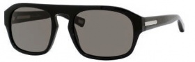 Marc Jacobs 387/S Sunglasses Sunglasses - 0807 Black (NR Brown Gray Lens)