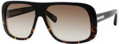 Marc Jacobs 388/S Sunglasses Sunglasses - 00J0 Black Havana (CC Brown Gradient Lens)