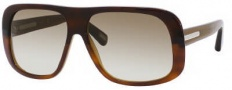 Marc Jacobs 388/S Sunglasses Sunglasses - 0XGR Shiny Brown Havana (DB Brown Gray Gradient Lens)