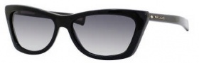 Marc Jacobs 389/S Sunglasses Sunglasses - 0807 Black (JJ Gray Gradient Lens)