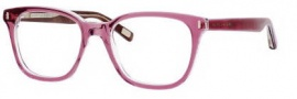 Marc Jacobs 376 Eyeglasses Eyeglasses - 0OL7 Plum Crystal Brown