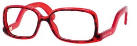 Marc Jacobs 380 Eyeglasses Eyeglasses - 0OO4 Havana Red Gold
