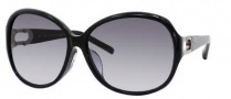 Jimmy Choo Allium/F/S Sunglasses Sunglasses - 0ZP3 Black (JJ Gray Gradient Lens)