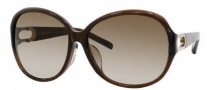 Jimmy Choo Allium/F/S Sunglasses Sunglasses - 0BNP Cocoa (CC Brown Gradient Lens)