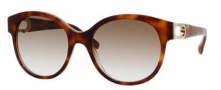 Jimmy Choo Allium/S Sunglasses Sunglasses - 0M2R Glitter Tortoise (02 Brown Gradient Lens)