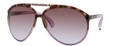 Jimmy Choo Aster/S Sunglasses Sunglasses - 0YNE Havana Violet (27 Brown Violet Shaded Lens)