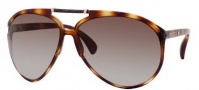 Jimmy Choo Aster/S Sunglasses Sunglasses - 0AG1 Vintage Havana (JD Brown Gradient Lens)