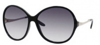 Jimmy Choo Belle/S Sunglasses Sunglasses - 0REW Shiny Black (JJ Gray Gradient Lens)
