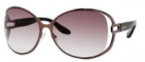 Jimmy Choo Catherine/S Sunglasses Sunglasses - 0WUY Brown (FM Brown Violet Shaded Lens)