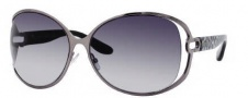 Jimmy Choo Catherine/S Sunglasses Sunglasses - 0WUX Dark Ruthenium (HD Gray Gradient Lens)