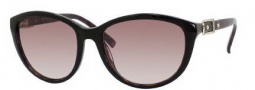Jimmy Choo Cecy/S Sunglasses Sunglasses - 0YGM Havana Black (YY Brown Gradient Lens)