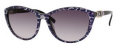 Jimmy Choo Cecy/S Sunglasses Sunglasses - 0ZS7 Leopard (BD Dark Gray Gradient Lens)