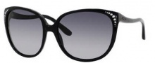 Jimmy Choo Charlotte/S Sunglasses Sunglasses - 0807 Black (HD Gray Gradient Lens)